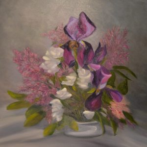 sstefanski_Spring Cuttings_24x24_oil canvas_$995