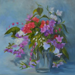 sstefanski_Spring Garden Picks_24x24_oil canvas_$995