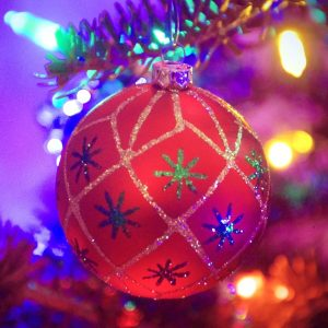 christmas light and ball hcg