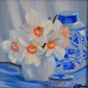 sstefanski_Daffodil Still_8x8oil