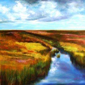 sstefanski_Forsyth Wetlands 20×30 oil canvas