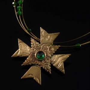 Bronze Maltese Cross