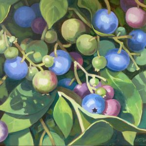 Blueberries 20 x 24 copy