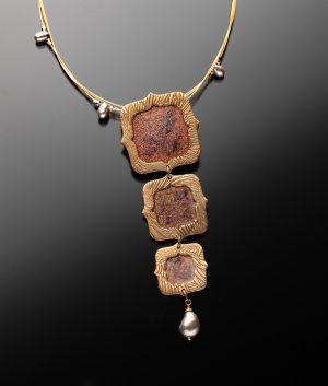 bronze-pearl-framed-art
