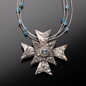 Fine Silver Maltese Cross
