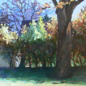 October Light 18 x 24 by Eileen Rudisill Miller